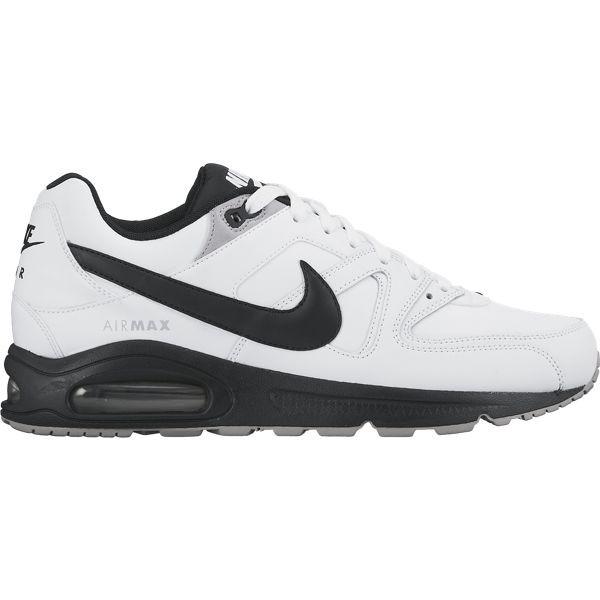 Nike Air Max Command Leather Sneaker Herren WeißSchwarz