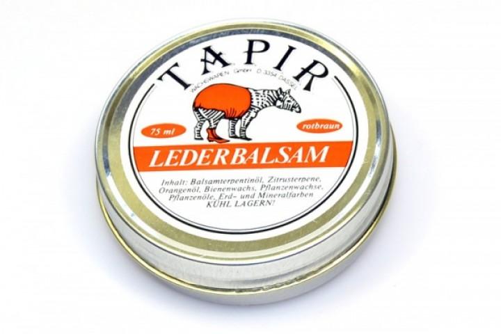 Tapir Lederbalsam rotbraun 85ml